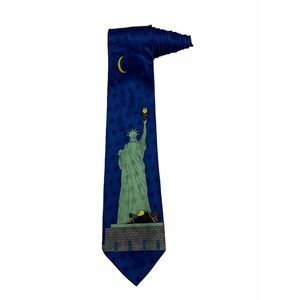 MTV Bevis And Butthead Statue Of Liberty  Tie